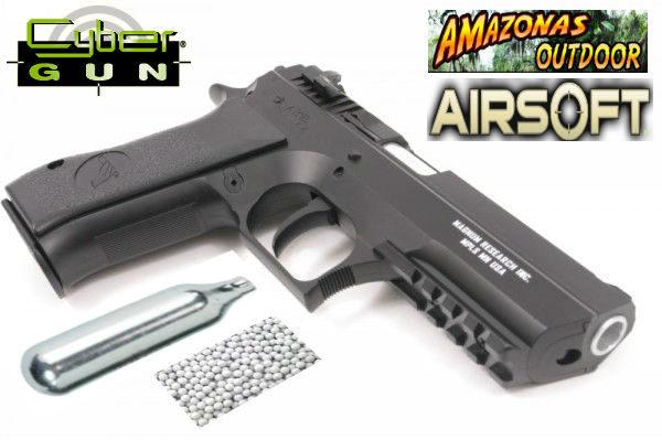 Baby Desert Eagle Co2 Non Blowback Airsoft Handgun Black Amazonas Outdoor