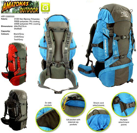22432a831d2 Highlander Discovery 45,65,85 litre Rucksack – Amazonas Outdoor